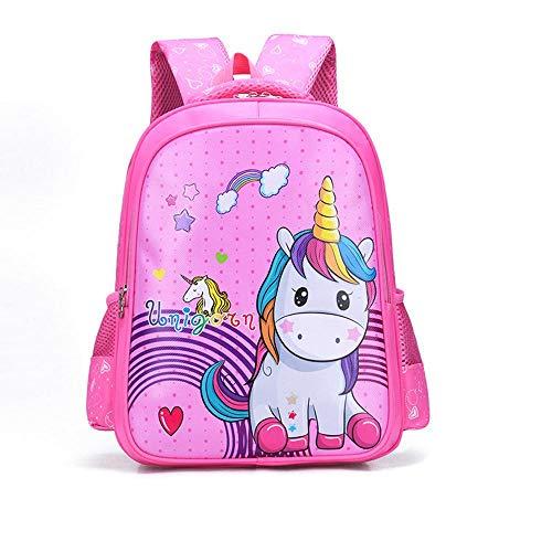Toddler Backpack ZWRY Cartoon Cute Children Elementary School Schoolbag 4-6 Years Old to Relieve The Burden of Kindergarten Backpack Backpack 15