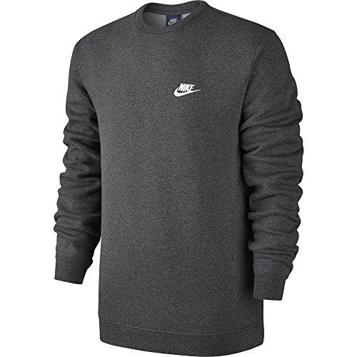 Nike Herren M NSW CLUB CRW BB 804340 Long Sleeved T-shirt, grau, XL
