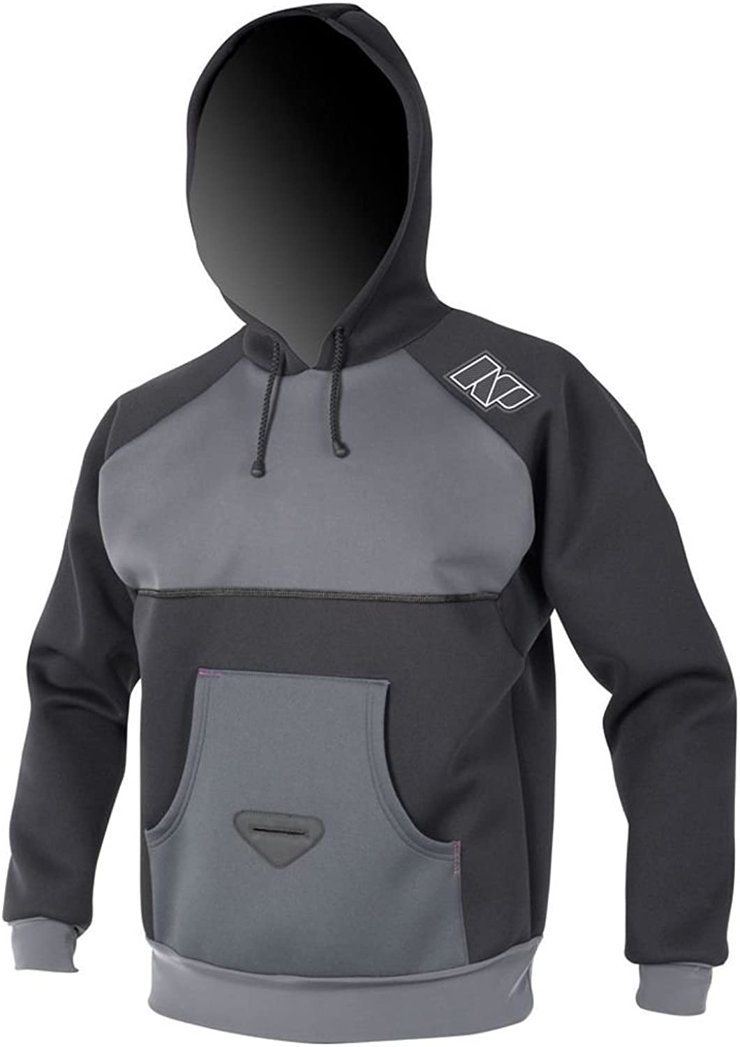 NP Surf Fire Line Insulation Neoprene Wetsuit Hoodie with Reinforced Harness Hook