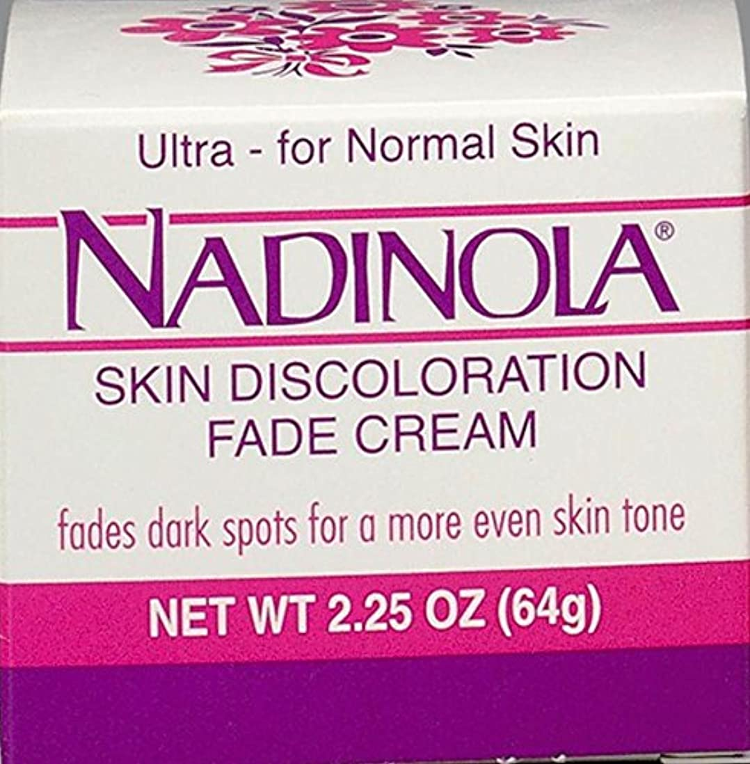 暖かく国旗まとめるNadinola Discoloration Fade Cream 2.25oz Normal Skin (並行輸入品)