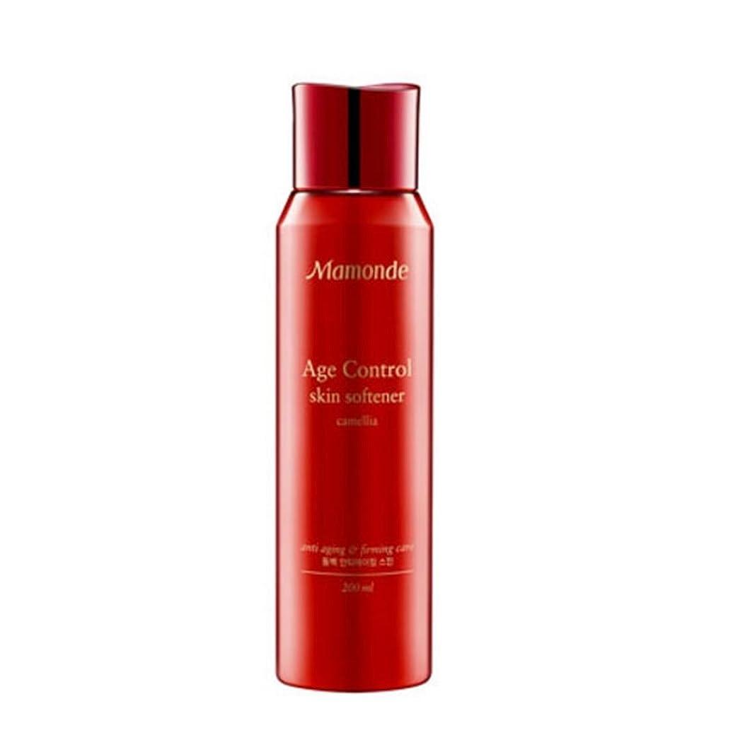 不測の事態直感マスタード(マモンド) MAMONDE エイジコントロール スキン Age Control Skin Softener (韓国直発送) oopspanda