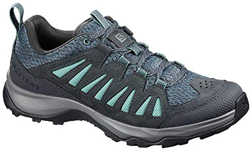 SALOMON Shoes EOS Aero, Zapatillas de Trekking Mujer, Multicolor (Hydro./India Ink/Trellis), 38...
