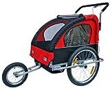 Inconnu Remorque à vélo, Jogger transport d'enfants avec suspension