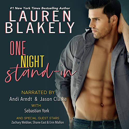 One Night Stand-In audiobook cover art