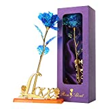 Colorful Rose Infinity Rose Galaxy Rose Flower Gifts with Luxury Gift Box for Valentine's Day Thanksgiving Mother's Day