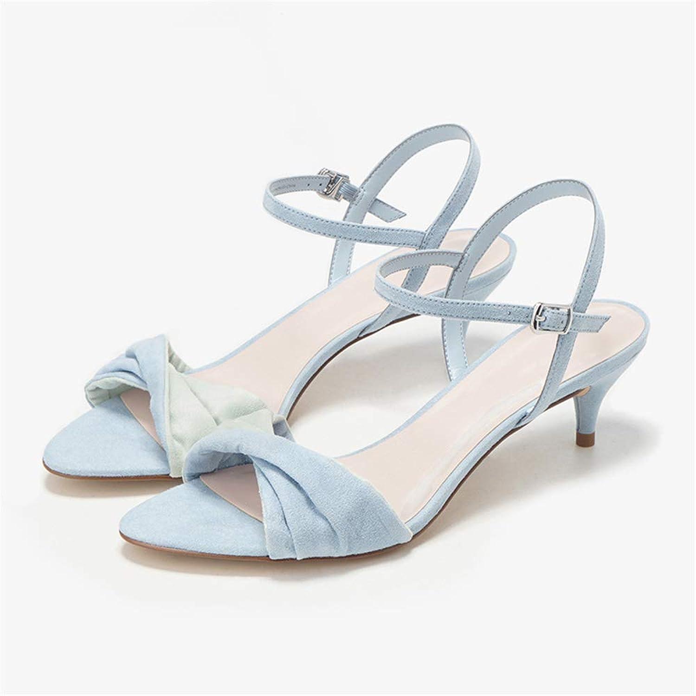 YANJK Women's Sexy high Heels Bridesmaid Dress Wedding shoes Fashion high Heel Sandals
