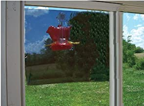 New Songbird Essentials Two-Way Window Mirror 20X12 Film Clings To Window With Removable Glue Spots