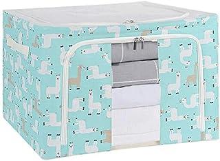 Lpiotyucwh Paniers et Boîtes De Rangement, Boîte de rangement de vêtements de ménage de grande capacité, boîtier de stocka...