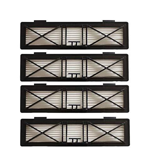WENJING 4pcs 20 X 5.5cm Ultra Performance Hepa Remplacement du Filtre Fit for Neato Botvac D Série 945-0215 Filtre D75 / 80/85/945 1374 (Color : SMT051)