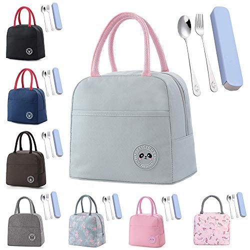 Insulated Lunch Bag Thermal Bag Cool Bag for Adults/Men/Women/Kids Portable...