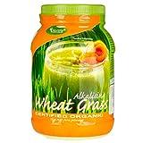 MORLIFE Wheat Grass Certified Organic 1KG |100% Pure Wheatgrass Powder 667 Serves |
