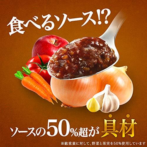 キッコーマン食品ウルトラソースごちそう食感350g×4本