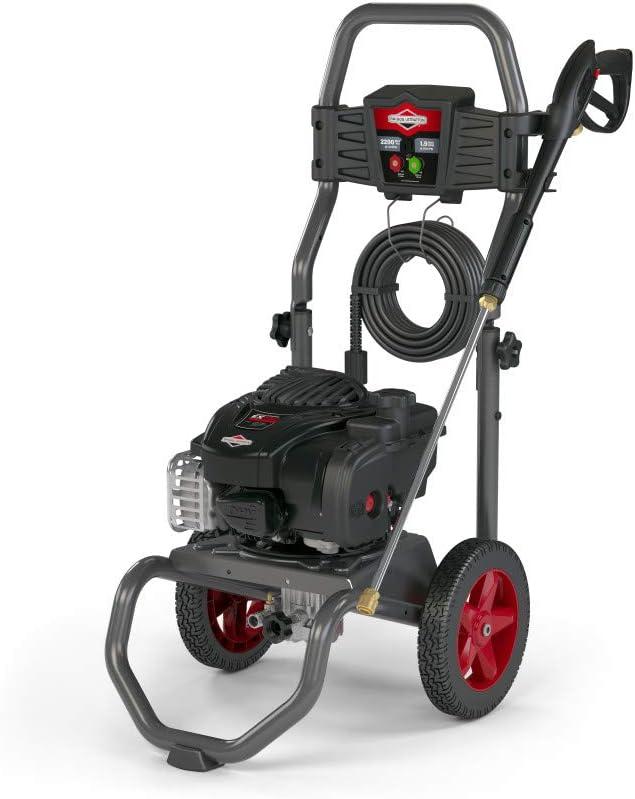 Briggs Stratton 2200 MAX PSI 《週末限定タイムセール》 at wi Washer Pressure 贈答品 Gas 1.9 GPM