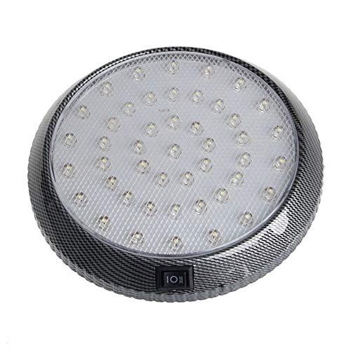 SHOP YJX 12V de Lectura de Blanco vehículos Lámparas del Coche 46-LED Interior Cubierta de Techo de Techo Luz del Techo