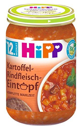 HiPP Kartoffel-Rindfleisch-Eintopf, 6er Pack (6 x 250 g)