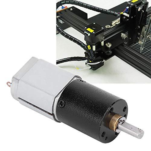 Motor eléctrico de baja velocidad 20GP-130 Motor de engranajes planetarios Motor de potencia Alto par para máquina pulidora para máquina de cuentas(DC12V 45RPM, Pisa Leaning Tower Type)
