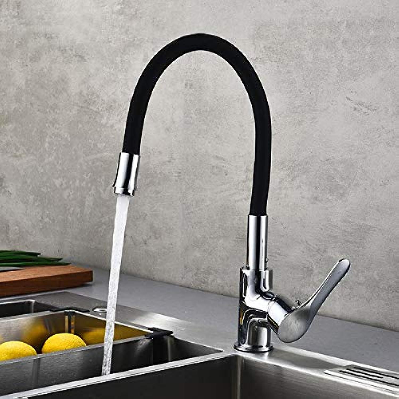 Wasserhahn Waschtischarmatur All-Kupfer Universalrohr Küche Hei Und Kalt Wasserhahn Spüle Wasserhahn Küche Rotierenden Becken Wasserhahn