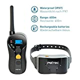 PetTec Remote Vibra Trainer Advance, Erziehungshalsband mit 16 Vibrationsstufen und Tonsignal, inkl....