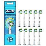 Oral-B Precision Clean Cabezales de Recambio, Pack de 10 Recambios Originales con Tecnología CleanMaximiser para Cepillos de Dientes Eléctricos