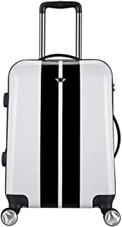 20 Inch Gift Mini Trolley Case PC Material Hard Case Hand Carrying Case Boarding Case Travel White