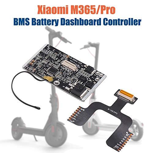 Konesky Pièces de Scooter électrique, BMS Circuit de Batterie Tableau de Bord Manette Protecteur Kit de Tableau de Contrôle de Batterie pour Xiaomi M365 Pro