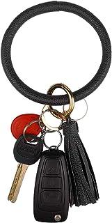 دستبند چرمی دستبند حلقه کلید ، مچ بند حلقه ای حلقه ای مچبکی زنانه - دستان خود را آزاد کنید