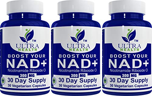 99.5% NR Nicotinamide Riboside, 30-Day Supply, 300mg Vegetarian Capsules, No Additives Just The purest NAD+ Boosting Supplement for The Highest bioavailability. Pair with Niacin, NMN and resveratrol.