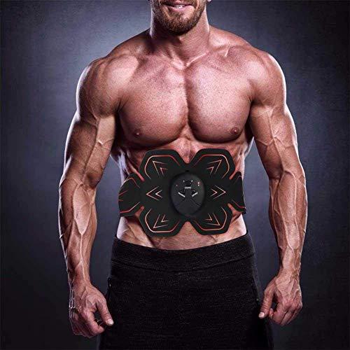 Almohadilla para entrenador muscular, Intensidad muscular Tóner eléctrico recargable Cinturón de tonificación...