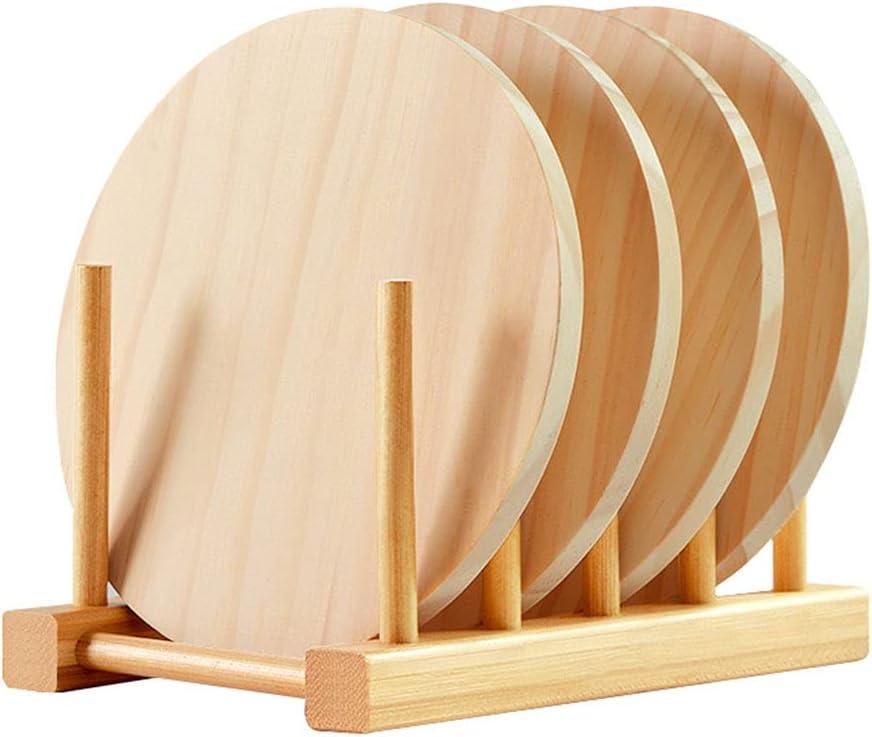 supreme Limited time sale CROWNXZQ Natural Wood mat Set Heat Anti-hot Rack Resista Storage