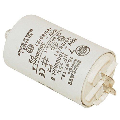 Spares2go Condensateur pour Proline sèche/à condensateur Linge (7UF)
