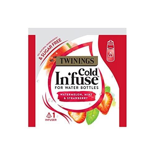 Twinings Kalt-Infuse Wassermelone Erdbeere & Mint 20 Envelope Infuser
