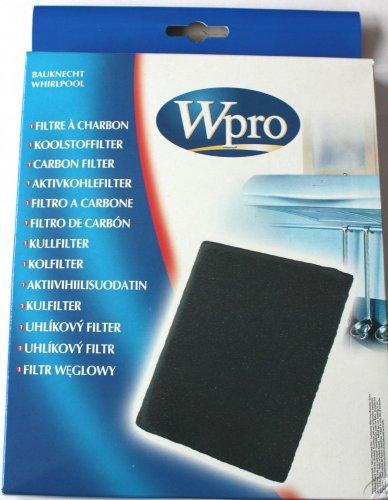 481248048091 Filtre de hotte à charbon Type 20 - dim 220x180x20 mm - lavable au lave-vaisselle et ré