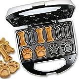 Clatronic DCM 3683 - Máquina para hacer galletas para perros y mascotas con forma de huella y...