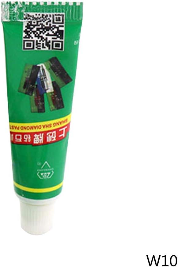 1//12Pcs Diamond Polishing Lapping Paste Compound Syringes W0.5~40 Micron Glass Metal Grinding Polishing Abrasive Tools by Irjdksd