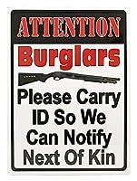 注意泥棒錫サイン壁の装飾金属ポスターレトロプラーク警告サインオフィスカフェクラブバーの工芸品
