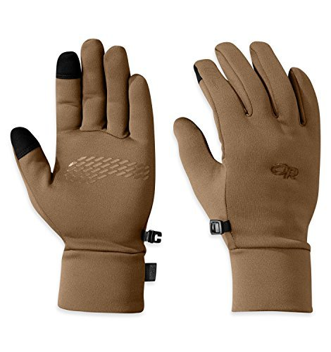 Outdoor Research Men's Pl 100 Sensor Gloves, Coyote, Medium by Outdoor Research