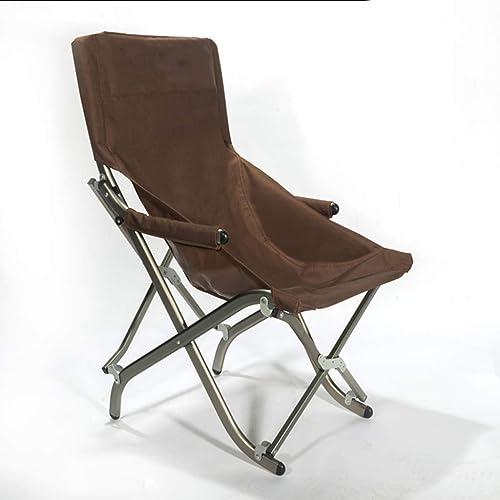 Hxx Chaise Longue extérieure rétractable accroupie de Chaise de pêche d'alliage d'aluminium, Chaise multifonctionnelle de Camping, 50X48X82cm