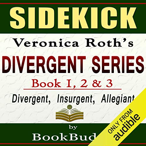 Divergent Series (Divergent, Insurgent, Allegiant): by Veronica Roth -- Sidekick audiobook cover art