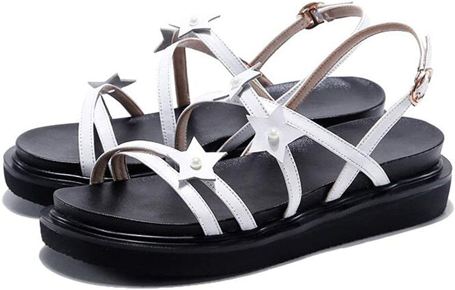 Comfortable and beautiful ladies sandals Sandals Summer Female Fashion Open Toe Mid Heel Single shoes