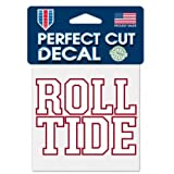 NCAA Alabama Crimson Tide Roll Tide 4'x4' Die Cut Decal