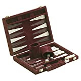 18' Recreational Velvet Backgammon Board Game Case, Burgundy
