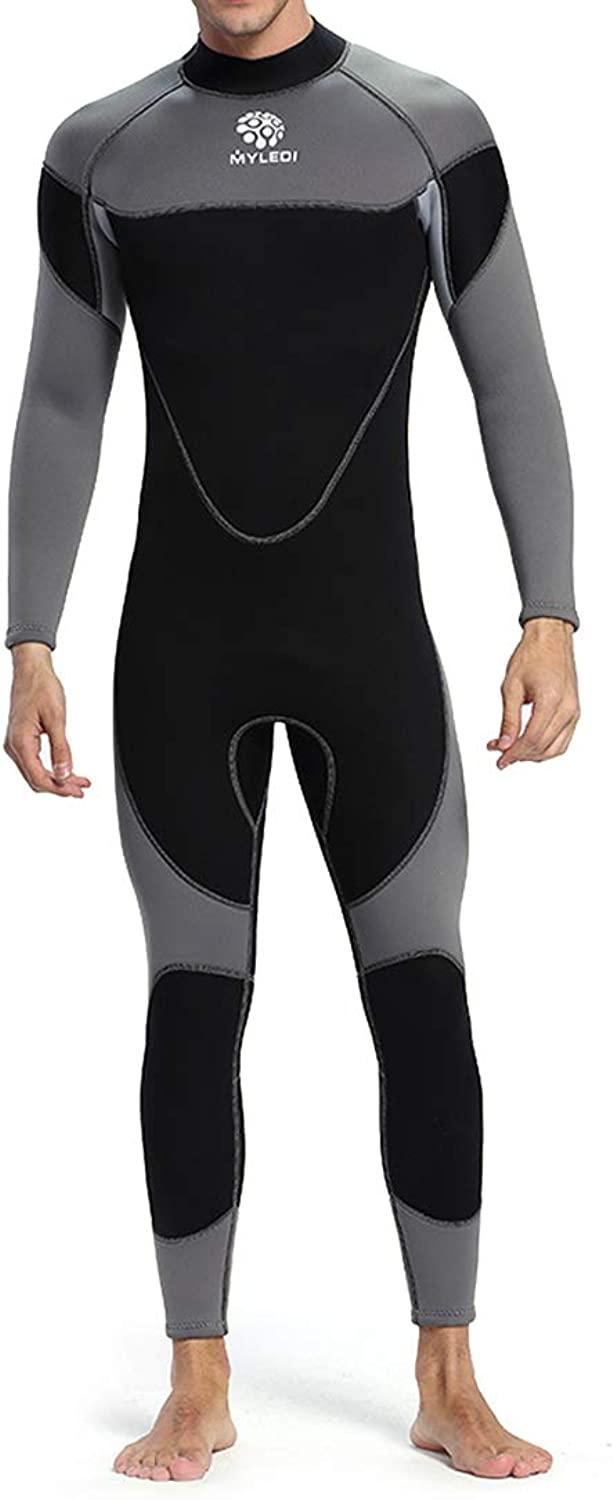 KERVINJESSIE Wetsuit Men's Swimwear Diving Cold Insulation Excellent Sunscreen Thick Sweat Sweat Fast Dry Rash Guard Long Sleeve (color   2, Size   XL)