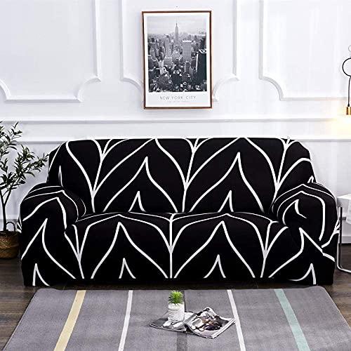 L.TSA Funda para sillón Funda elástica para sofá, elástica para Sala de Estar Funda Universal para sofá seccional Funda para sillón-10_235-300cm, Funda para sofá para Sala de Estar