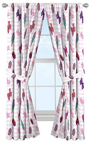 Jay Franco Nickelodeon JoJo Siwa Sweet Life Curtain/Drapes