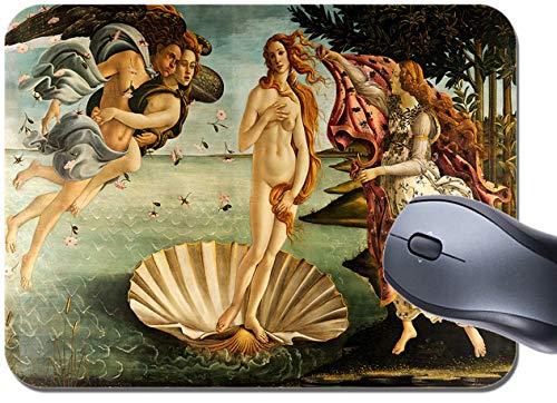 Tappetino per mouse, motivo: la nascita di Venere Sandro Botticelli