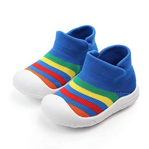 Zapatillas de deporte unisex para bebé (18-24 meses, azul)