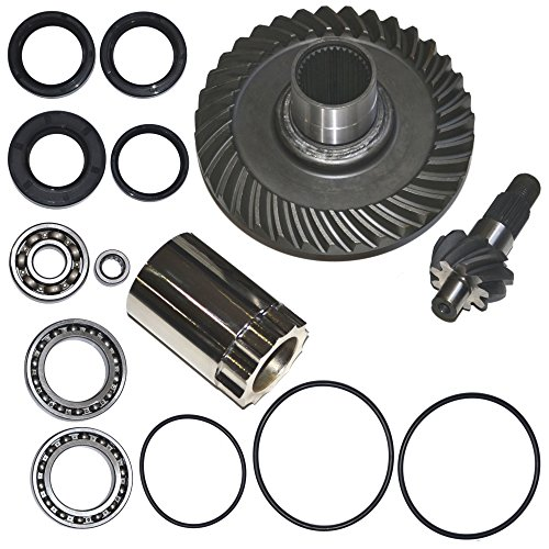 Rear Differential Ring and Pinion Gear Plus Kit Fits 88 89 90 91 92 93 94 95 96 97 98 99 00 Honda TRX300FW 300 Fourtrax