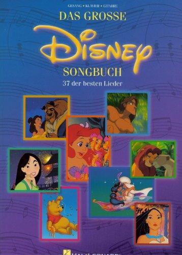 Das Grosse Disney Songbuch - Noten Songbook [Musiknoten]