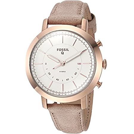 Fashion Shopping Fossil Women's Neely Stainless Steel Hybrid Smartwatch with Activity Tracking and Smartphone Notifications