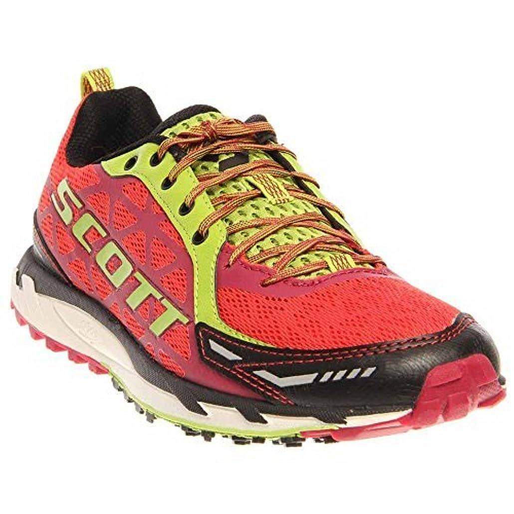 並外れたインタビュー示すScott Running Women's Trail Rocket Womens Walking ShoeRed/Green9 C US [並行輸入品]